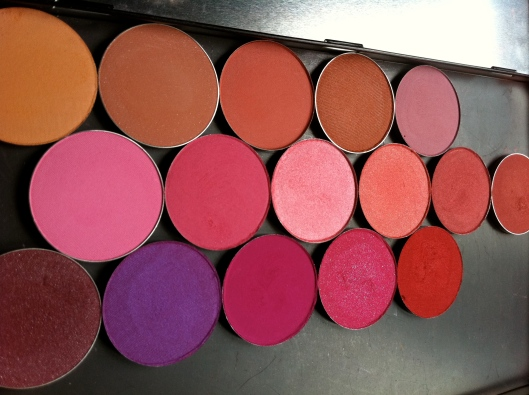 All La Femme Blushes - side view